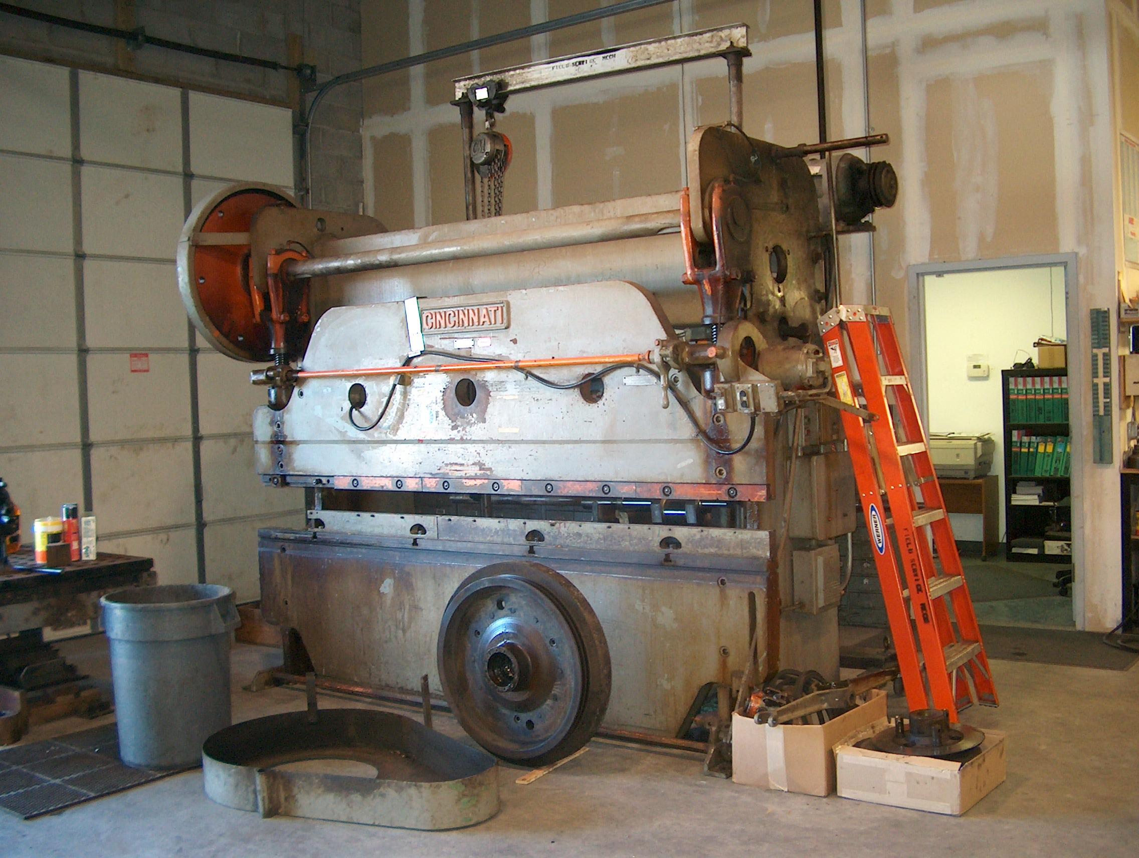 Press Brake - Shear - Repairs & Rebuilding